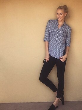 「FOREVER 21+ Mid-Rise Skinny Jeans(FOREVER 21)」 using this Sarah Hatcher looks