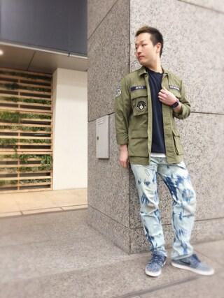 AVIREX 新宿|TAKAKIさんの(AVIREX|アヴィレックス)を使ったコーディネート