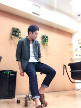 kyosukeさんの(ユニクロ|ユニクロ)を使ったコーディネート
