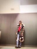 キャサさんの「MV Ashton Tapered(MOUSSY|マウジー)」を使ったコーディネート
