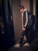 ✌︎K✌︎さんの「【adidas】SST TRACK TOP(adidas originals|アディダスオリジナルス)」を使ったコーディネート