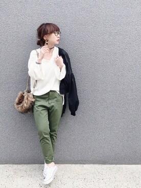 SIZUさんの(Lisa onlinestore|リサオンラインストア)を使ったコーディネート