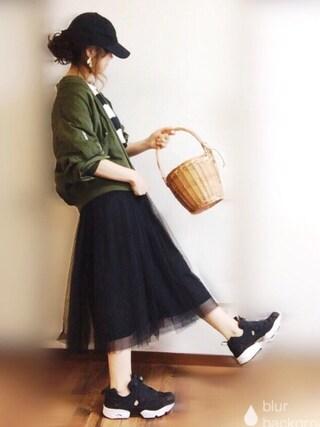 「ニューハッタンキャップ(meJane)」 using this ぴょん looks