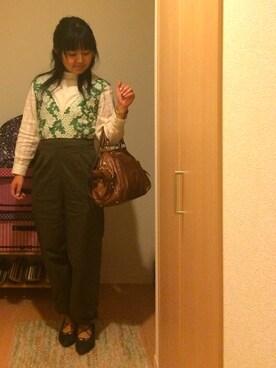 YumiTeaさんの(miu miu|ミュウミュウ)を使ったコーディネート
