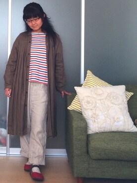 YumiTeaさんの(BIRKENSTOCK|ビルケンシュトック)を使ったコーディネート