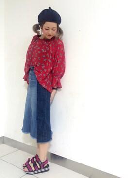 wcloset 札幌パセオ店|TOSHIBE KAYOKOさんの(w closet|ダブルクローゼット)を使ったコーディネート