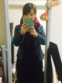 colorchildさんの「WOMEN エクストラファインメリノクルーネックセーター(長袖)+E(ユニクロ|ユニクロ)」を使ったコーディネート