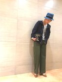 midoriさんの「ショートモッズブルゾン(CIAOPANIC TYPY|チャオパニックティピー)」を使ったコーディネート