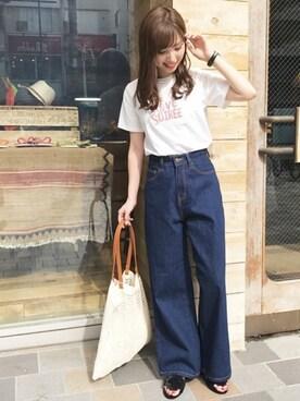dazzlin  SHOP STAFF 谷川 菜奈さんのコーディネート