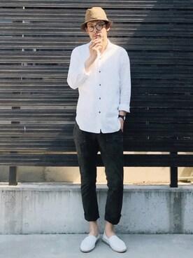 SAO★☆★さんの「WEGO/コンビボストンタイプメガネ(WEGO ウィゴー)」を使ったコーディネート