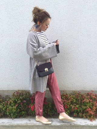 「High gauge knit cardigan(marjour)」 using this shihocoo looks
