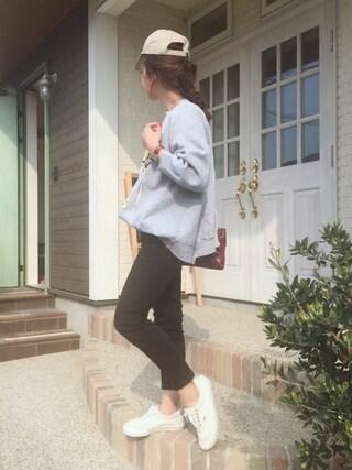 「ニューハッタンキャップ(meJane)」 using this miisuuzuukii looks
