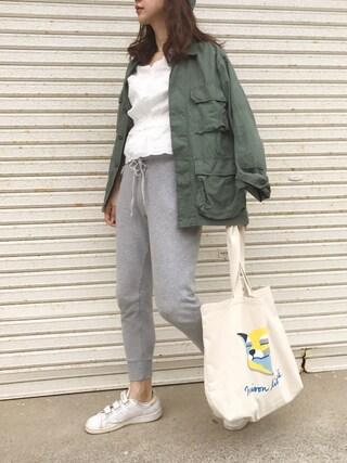 「<ROTHCO>BDUジャケット(BEAUTY&YOUTH UNITED ARROWS)」 using this miisuuzuukii looks