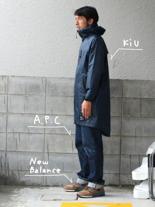 kiu-officialさんの「LOW STANDARD 16P(A.P.C.)」を使ったコーディネート