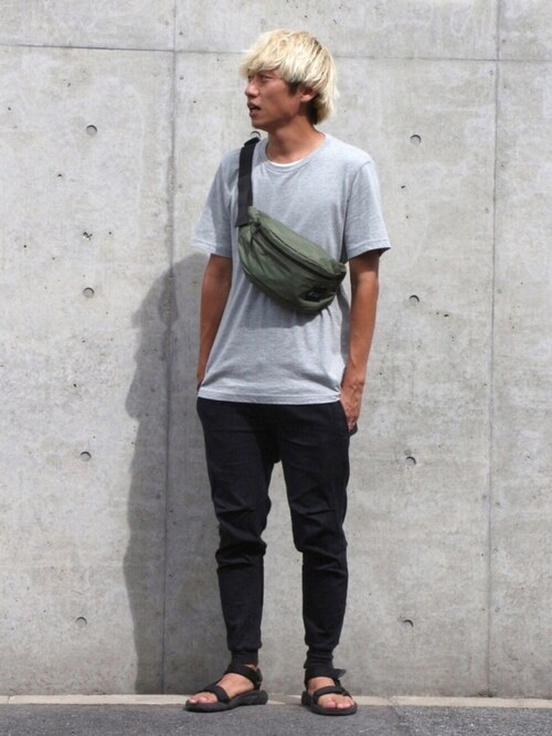 kiu-officialさんの「バスクTシャツ(URBAN RESEARCH)」を使ったコーディネート