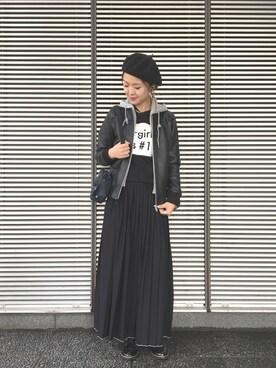 X-girl 名古屋|イトウアヤナさんの(X-girl|エックスガール)を使ったコーディネート