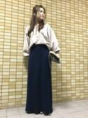 yukayukaさんの「【ノイエマルシェ】 シューズバンド (31)(neue marche|ノイエマルシェ)」を使ったコーディネート