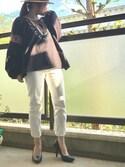 yukayukaさんの「足にFIT☆痛くなりにくい美脚パンプス[XS~3L]クアトロクッション☆機能系9cmヒールポインテッドトゥパンプス/神戸レタス[I1030](KOBE LETTUCE|KOBE LETTUCE)」を使ったコーディネート