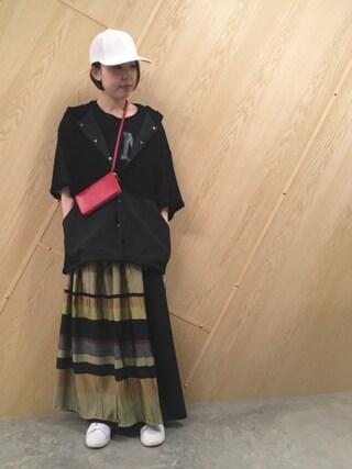 MIDWEST OSAKA|わたなべさんの「KIJIMA TAKAYUKI ペーパークロスキャップ【ESTNATION EXCLUSIVE】(KIJIMA TAKAYUKI|キジマ タカユキ)」を使ったコーディネート