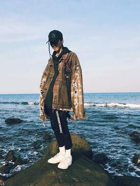 XIWI|XIWI使用(古著)的時尚穿搭