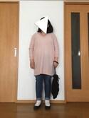 miku__390さんの「Skinny Denim(AZUL by moussy|アズールバイマウジー)」を使ったコーディネート