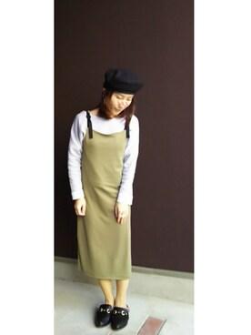 higumaさんの(GU ジーユー)を使ったコーディネート