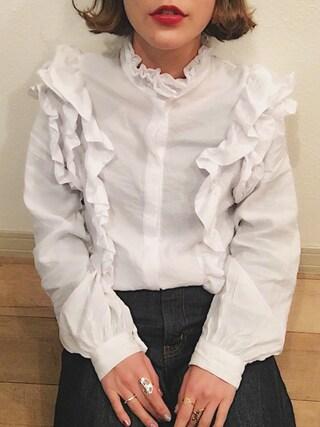 長澤メイさんの(H&M DIVIDED|エイチアンドエム ディヴァイデッド)を使ったコーディネート