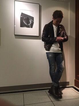 DIESEL 大丸京都店 (MEN'S)|SHIMIZUさんの(DIESEL|ディーゼル)を使ったコーディネート