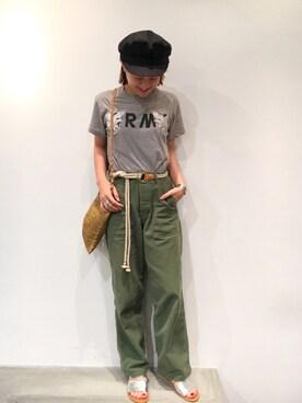CANALJEAN 心斎橋店|yuiさんの(TODAYFUL|トゥデイフル)を使ったコーディネート