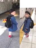 ♡PON♡さんの「CHILD ALL STAR N Z HI/チャイルド オールスター N Z HI(CONVERSE コンバース)」を使ったコーディネート