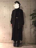 ともちゃんさんの「ベルト付ラチネサイドプリーツ/ガウチョ(INGNI)」を使ったコーディネート