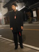 (COMME des GARCONS HOMME) using this 武央 looks