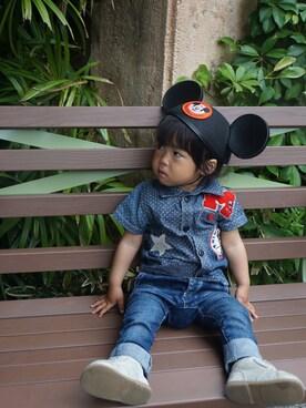 yuichanさんの(Disney|ディズニー)を使ったコーディネート