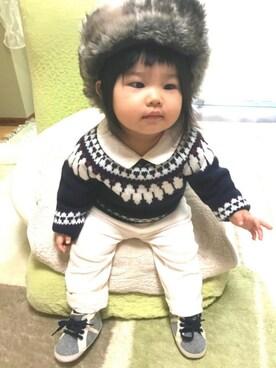 suuusanさんの(babyGAP|babyGAP)を使ったコーディネート