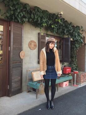 Hitomi Kitadaさんの(LACHAIZE Creation)を使ったコーディネート