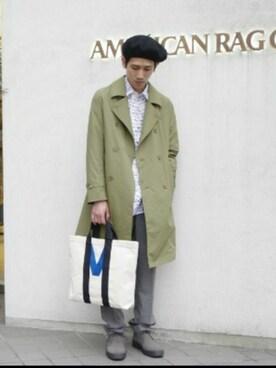 AMERICANRAGCIE(アメリカンラグシー)名古屋店 naoki takedaさんの(Traditional Weatherwear トラディショナルウェザーウェア)を使ったコーディネート