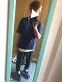 (GU) using this たくあん looks