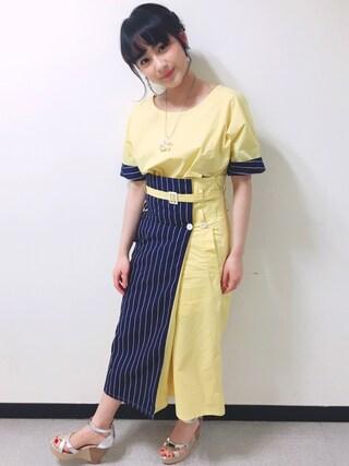 平 祐奈 | Yuna Tairaさんの(JUN OKAMOTO|ジュンオカモト)を使ったコーディネート