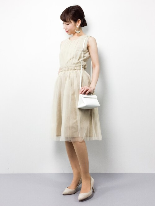 50代女性 結婚式服装