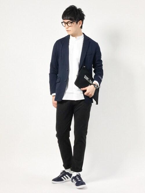 中嶋時男さんの「ダメリーノ ツイルカットジャケット(nano・universe)」を使ったコーディネート
