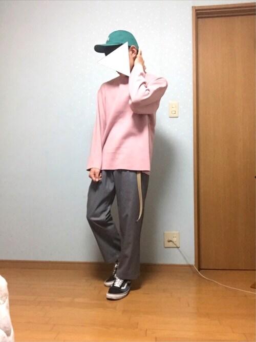 KoTa   さんの「STUSSY / ステューシー BASIC LOGO TWILL CAP(STUSSY)」を使ったコーディネート