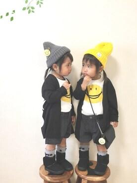 Love☆Rinさんの「2PFOスマイルset(F.O.KIDS|エフオーキッズ)」を使ったコーディネート