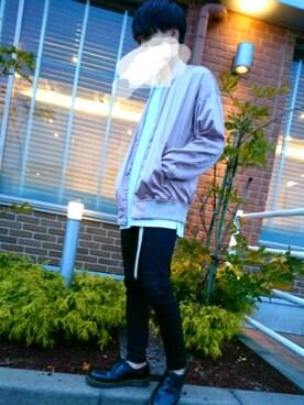 keiさんの「MEN ジョガーパンツ(ユニクロ|ユニクロ)」を使ったコーディネート