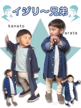 kanato☆さんの(TOMS トムス)を使ったコーディネート