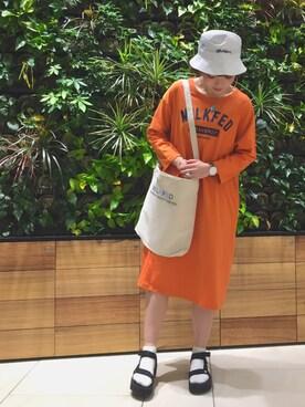 MILKFED. AT HEAVEN27 名古屋|MARIさんの(MILKFED.|ミルクフェド)を使ったコーディネート
