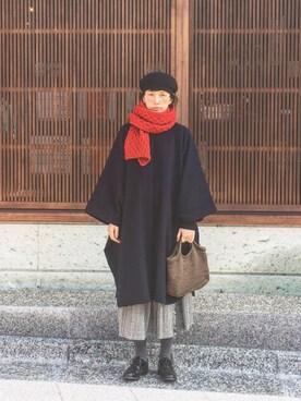 Kazumiさんの「HAMILTONラムアゼクルーネックプルオーバー_#(JOURNAL STANDARD|ジャーナルスタンダード)」を使ったコーディネート