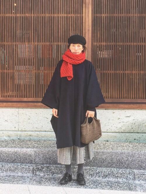 Kazumiさんの「HAMILTONラムアゼクルーネックプルオーバー_#(JOURNAL STANDARD)」を使ったコーディネート