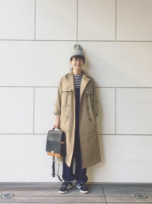 Kazumiさんの「<HIGHLAND 2000> BOBCAP NEP/ニット帽(HIGHLAND 2000)」を使ったコーディネート