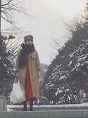 Kazumiさんの「COVENTRY / コヴェントリー(Traditional Weatherwear トラディショナルウェザーウェア)」を使ったコーディネート