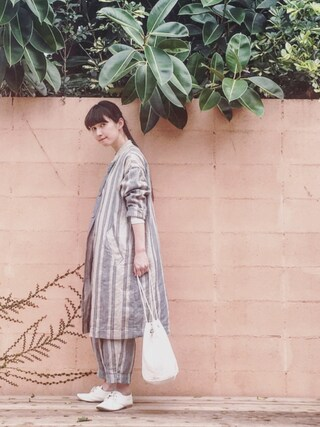 「・COTTON CASHMERE JERSEY(MARGARET HOWELL)」 using this Kazumi looks